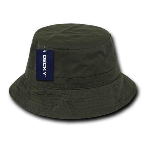 Olive Green Fishermans Fishing Hunting Army Military Bucket Jungle Safari Hat
