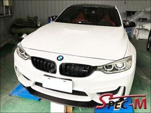 K2-Carbon-Fiber-Front-Bumper-Chin-Spoiler-Lip-For-2014-BMW-F80-M3-F82-M4-CF