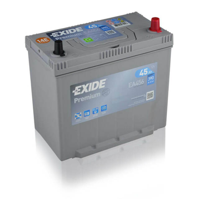 Exide Premium Superior Power EA456 45Ah 12V Autobatterie Starterbatterie