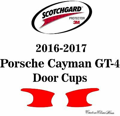 3M Scotchgard Paint Protection Film Clear Pre-Cut 2014 2015 2016 Porsche Cayman