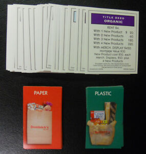 2006 Monopoly Dominick/'s Collector/'s Edition Cards-All