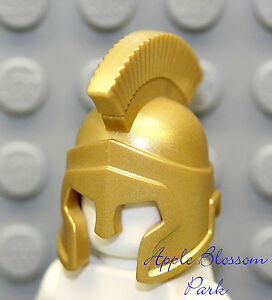Lego ® Minifig Accessory 1x Helmet Spartan Gold