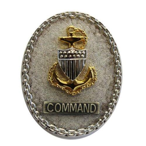 USCG BREAST BADGE: ENLISTED ADVISOR E7 COMMAND COAST GUARD Genuine U.S REG