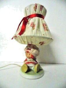 Vintage Strawberry Shortcake Lamp