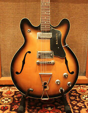Vintage 1966 1967 Baldwin Burns Italy 712 12 String Tobacco Guitar Serial #0040