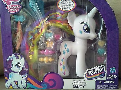 My Little Pony Styling Strands Rarity Rainbow Power Friendship Is Magic NEW