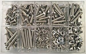 340 Teile Innensechskant Schrauben Sortiment ISO 7380 M5 Fahrradbox