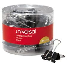 Universal Office Products 11140 Small Binder Clips 38 Capacity 34 Wide