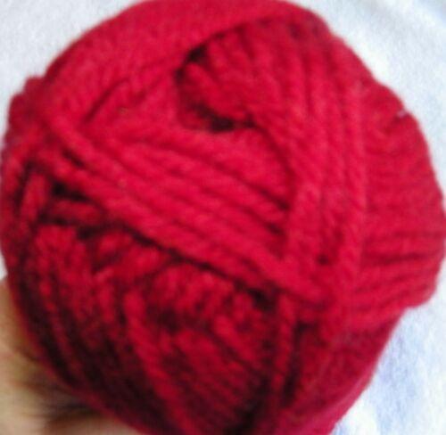 """Acrylic Yarn in Various Colors Lion Brand /""""Vanna/'s Choice/"""" Aran Wt"""