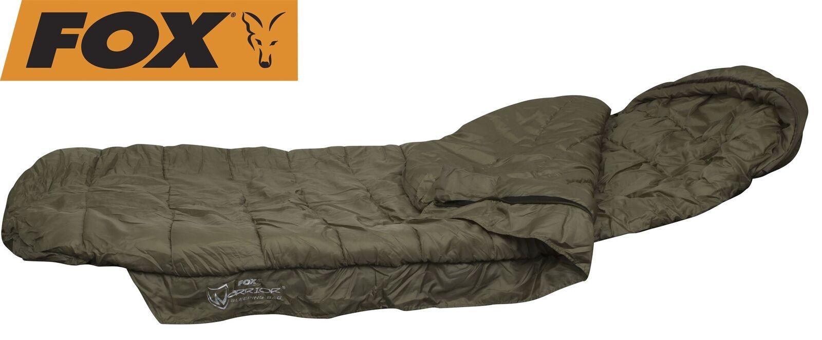 Fox Fox Fox Warrior Sleeping Bag Schlafsack zum Karpfenangeln Angelschlafsack 48b2e0