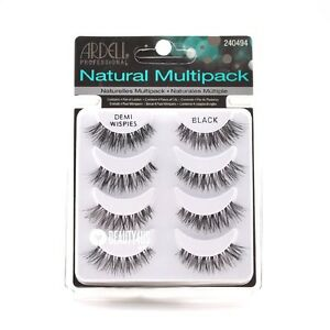 d3b9172a908 Image is loading 4-Pairs-Ardell-DEMI-WISPIES-Natural-False-Eyelashes-