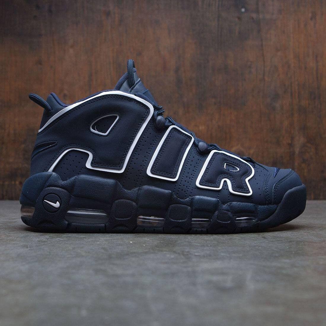 Nike More Uptempo 96 Obsidian Size 12. 921948-400 Jordan Kobe Pippen