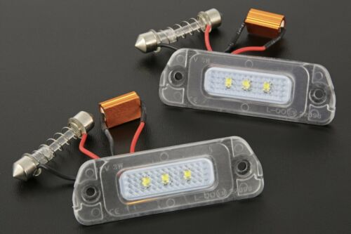R Klasse W164 X164 W251 7223 LED Kennzeichenbeleuchtung für Mercedes ML GL