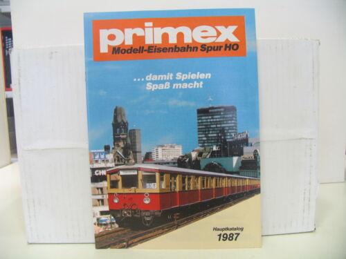 PRIMEX KATALOG 1987 TOP-ZUSTAND