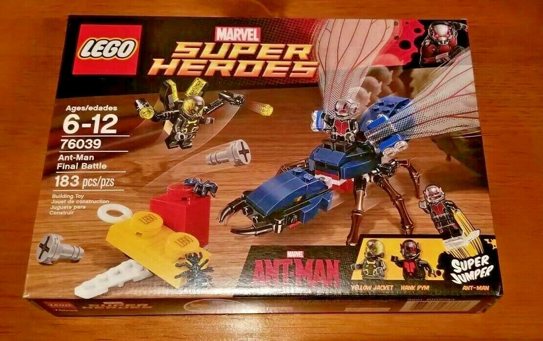 Lego Marvel Super Heroes 76039 Ant-Man Final Battle Retirot New Sealed MISB