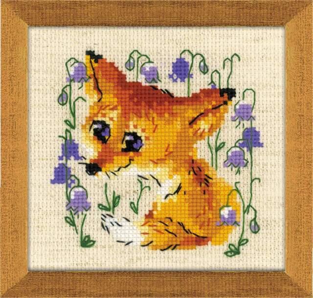"Counted Cross Stitch Kit RIOLIS 1776 /""Little Fox/"""