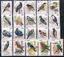 Aitutaki 1984 Birds SG 475/94 MNH