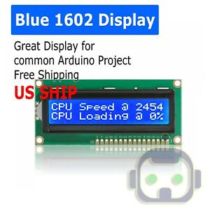 LCD-1602-Blue-screen-with-backlight-display-1602A-5v-module-for-arduino