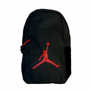 Details about NIKE JORDAN Jumpman Backpack Pack 9A1910-KR5 BLACK Red Logo  Laptop Book Bag NEW dcaf085a3ebab