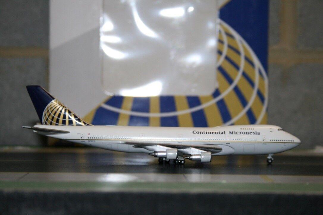 BigBird Big Bird 1 400 Continental Micronesia Boeing 747-200 N78019 BB4-2005-006
