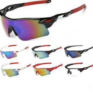 Details zu Unisex Sport Radbrille Sonnenbrille Fahrrad Sportbrille Rad Ski Herren Damen