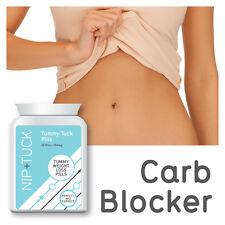 Nip & Tuck Tummy Tuck Pastillas Tummy pérdida De Peso Píldoras De Dieta Skinny Carb Blocker