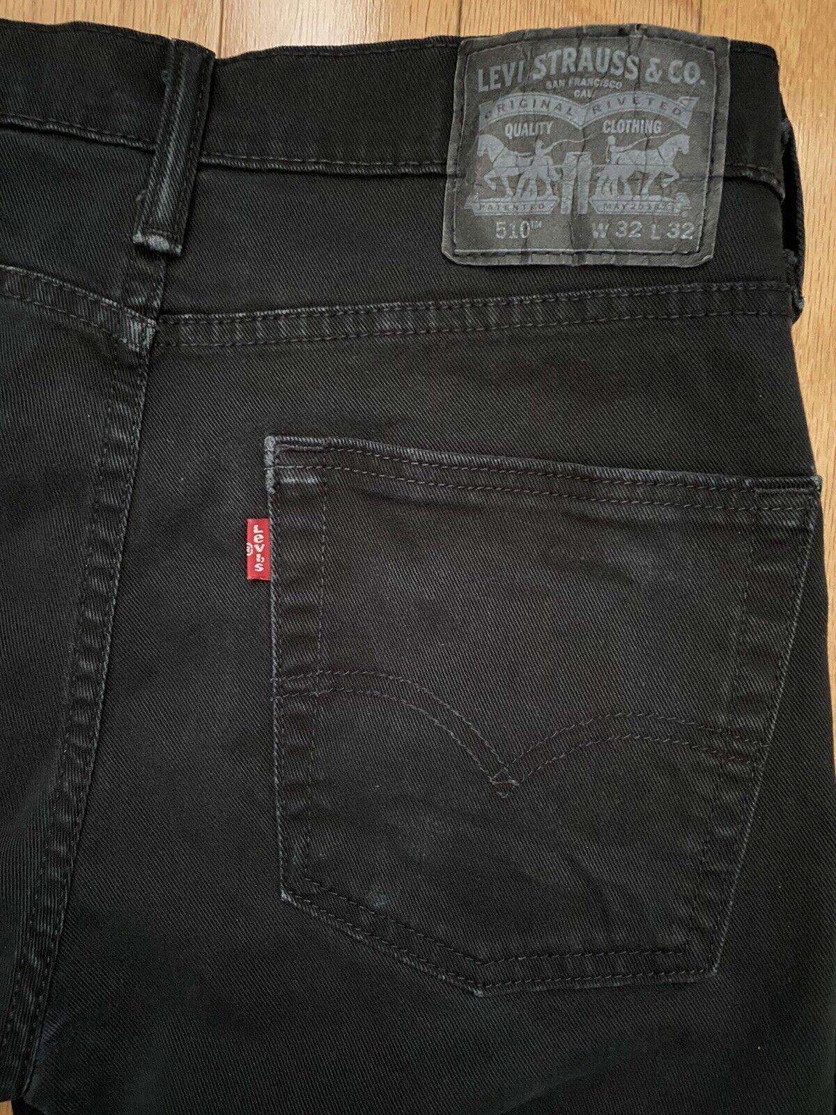 Levis 510 skinny jeans - 32x32 BLACK - image 1