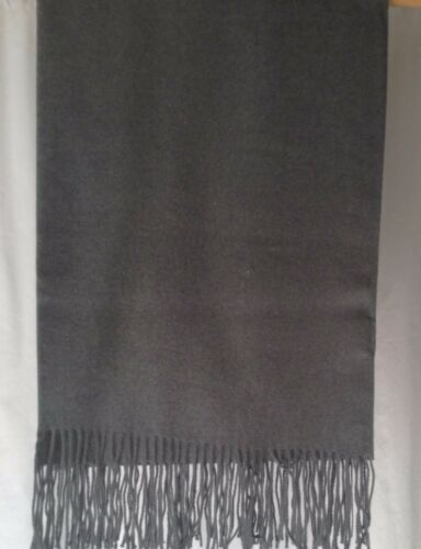 NEW LADIES CASHMERE /& WOOL BLEND SOFT SCARF WRAP PASHMINA SHAWL*22 PLAIN COLOURS
