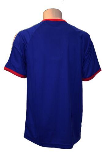 2 di 3 T-Shirt da calcio uomo Adidas blu Francia nazionale sport maglia  manica corta 08503327d352