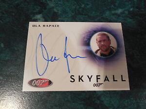 James-Bond-Archives-2014-Edition-Ola-Rapace-Autograph-A238