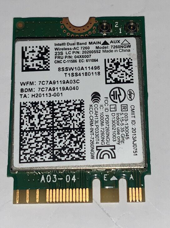 8SSW10A11496 20200552 LENOVO WIRELESS BLUETTOTH CARD IDEAPAD 100S-14IBR (CA74)