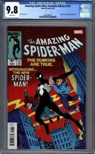 Amazing-Spider-Man-Facsimile-Edition-252-Reprints-1st-Black-Costume-CGC-9-8