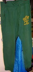 SPRZ NY Keith Haring Collab Sweat Pants Joggers Medium M Green Cotton Uniqlo