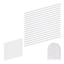 34 x Anti Rutsch Streifen 60 cm, Antirutschsticker, Rutschstreifen selbstklebend