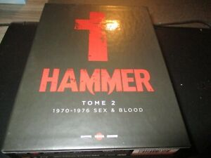 """COFFRET 7 BLU-RAY + 7 DVD """"HAMMER : TOME 2 (1970 - 1976 : SEX & BLOOD)"""" horreur"""