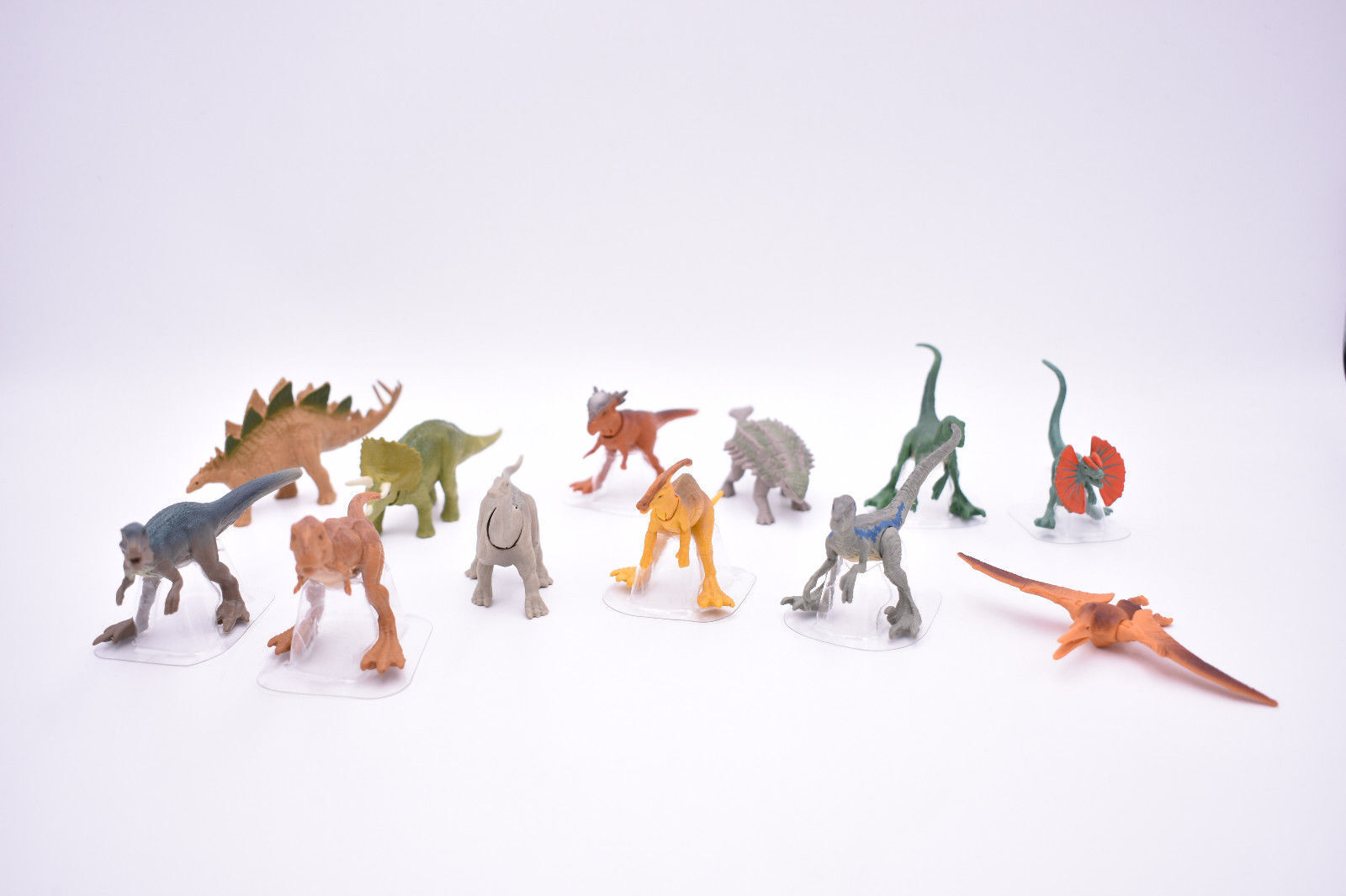 NEW Jurassic World Mini Action Dino Blind Tasche Figures A-L Complete Set of 12