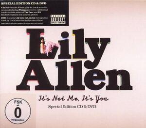 Lily-Allen-It-039-s-Not-Me-It-039-s-You-Especial-Edicion-CD-amp-DVD