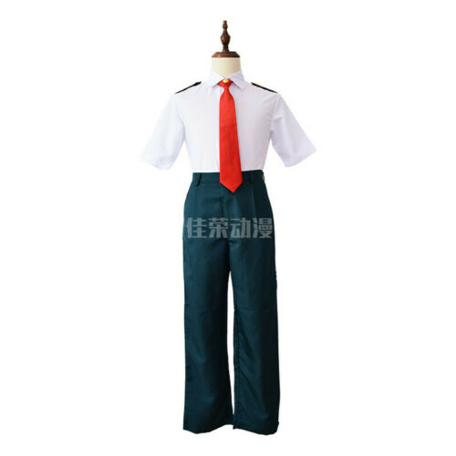My Boku No Hero Academia Midoriya Izuku OCHACO URARAKA Uniform Cosplay Costume