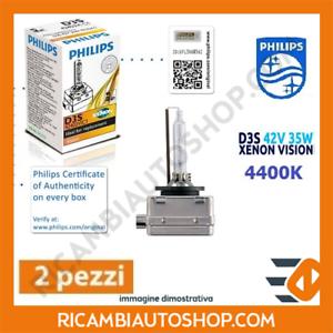 2 LAMPADINE XENON D3S PHILIPS AUDI Q5 (8R) 2.0 TDI KW:100 2010