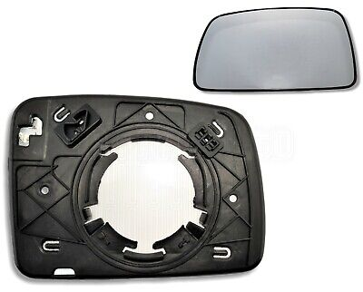 Genuine 05~09 Range Rover Driver Left Side Exterior Rear View Blue Mirror Glass