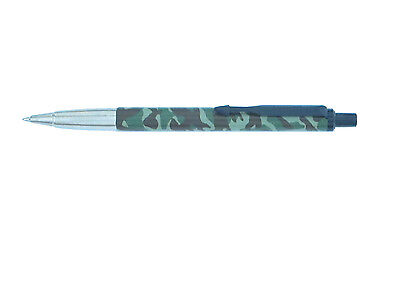 Parker Vector Sport Camouflage Ballpoint Pen Black Clip New In Box Made In Uk