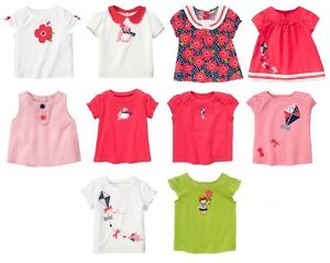 478f34ffd Gymboree Blooming Nautical Top 12 18 24 2T 3T 4T 5T Toddler Girl ...