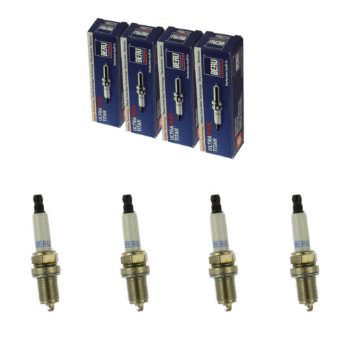 4x BERU Zündkerze Zuendkerze ULTRA Z272 //// 14 F-7 HURU02 Set 4-Zylinder
