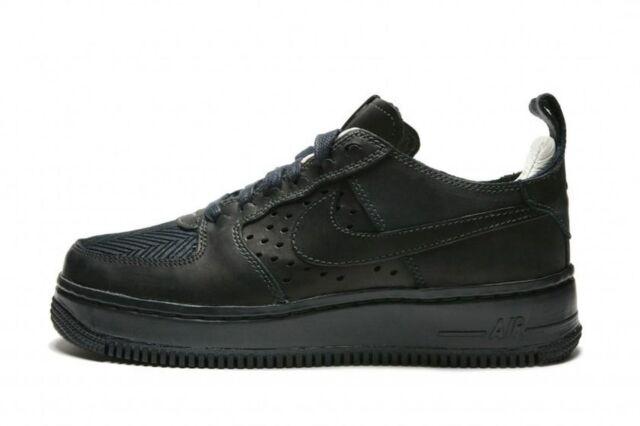 NIKE AIR FORCE 1 CMFT TC SP BLACK & SAIL 921072 001 Wmn Sz 8.5 Premium Leather