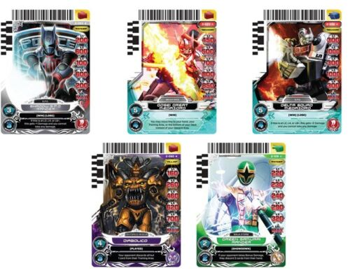 GUARDIANS OF JUSTICE FULL SET W// ULTRA RARES POWER RANGERS CARD GAME ACG SET 2