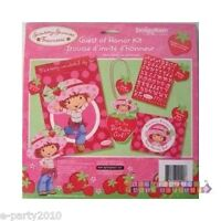 Strawberry Shortcake Guest Of Honor Kit Birthday Party Supplies Favors Award