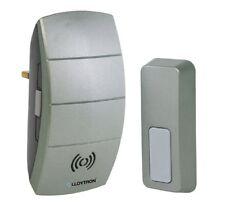 Lloytron B7504GM Wireless Cordless Door Bell Doorbell Plug In Chime 100m Range