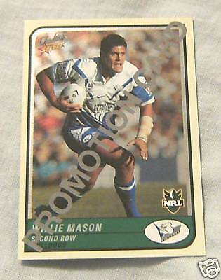RUGBY LEAGUE PROMOTIONAL FOIL CARD 2005, WILLIE MASON