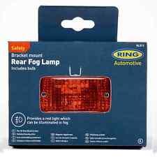 Universal Rear Fog Light / Safety Lamp With Bracket & Bulb - 140mm - Ring RL012