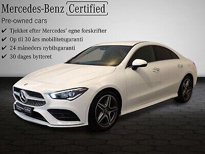 Annonce: Mercedes CLA250 2,0 Advantage A... - Pris 499.800 kr.